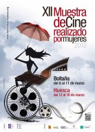 Cartel de la Muestra de Cine Realizado por Mujeres de Huesca
